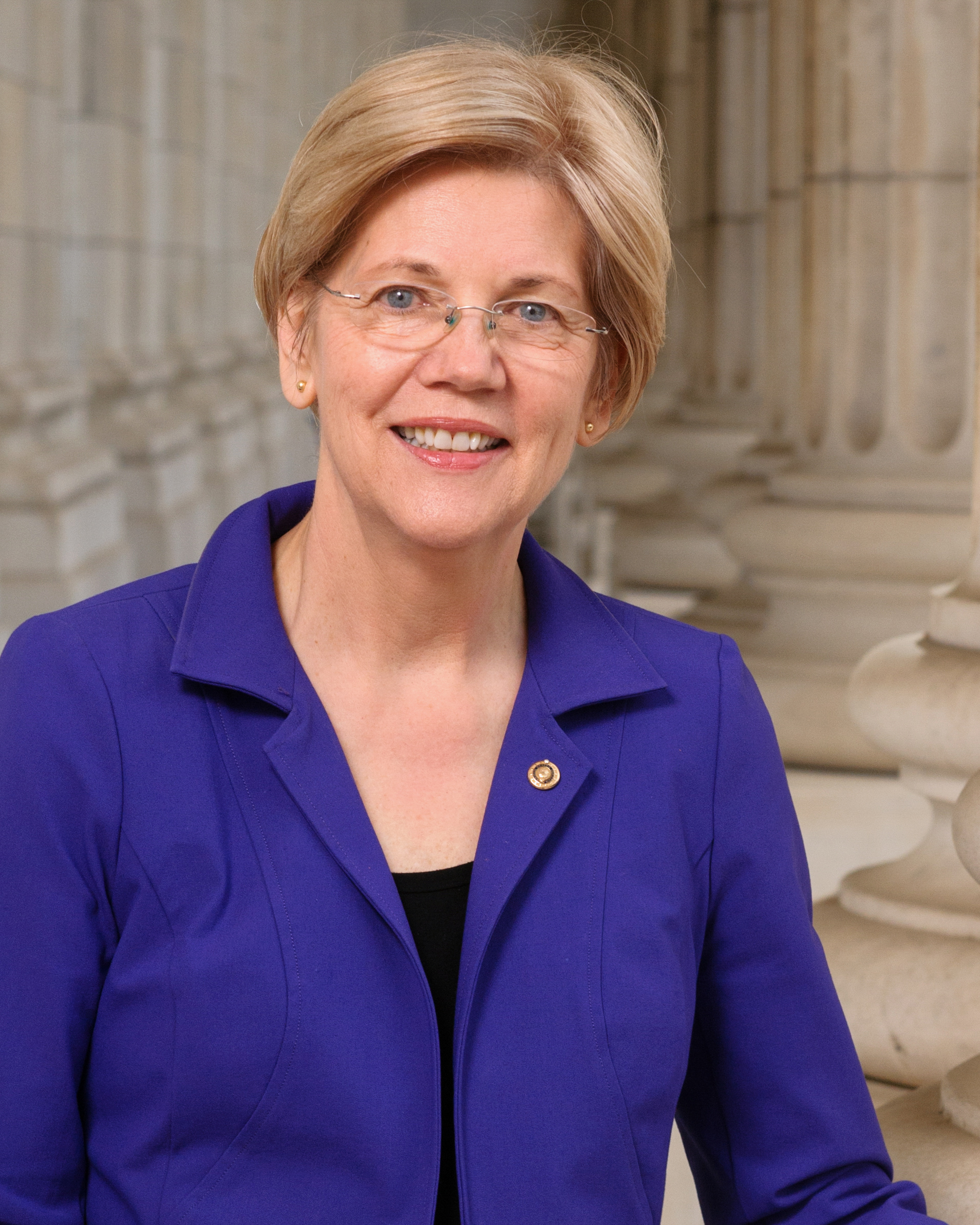 Elizabeth Warren Headshot